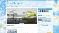 HealthFitness Blogger Template