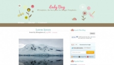 Lady Bug Blogger Template
