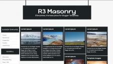 R3 Masonry Blogger Template