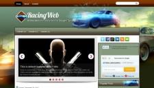 RacingWeb Blogger Template
