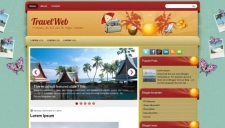 TravelWeb Blogger Template