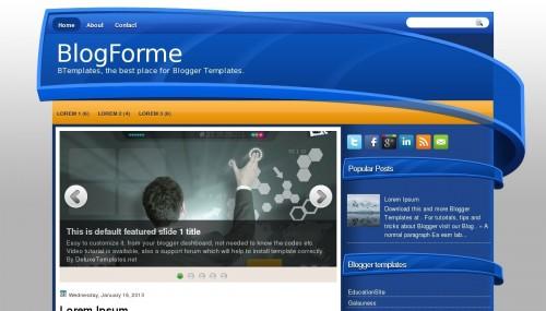 Template BlogForme
