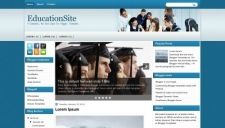 EducationSite Blogger Template