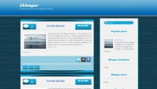 Eklenger Blogger Template