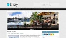 Entry Blogger Template