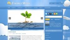 FinanceWeek Blogger Template