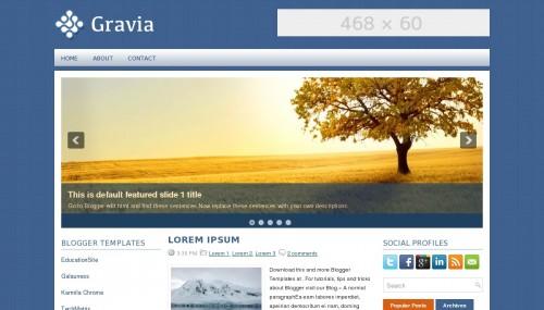 Template Blogger Gravia