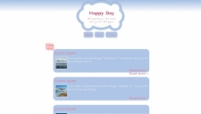 Happy Day Blogger Template