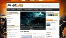 HotGames Blogger Template