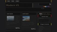 Modern V5 Blogger Template