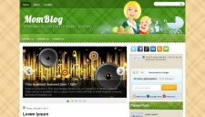 MomBlog Blogger Template