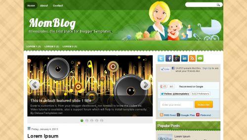 Template blogger MomBlog