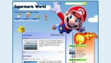 Supermario World Blogger Template