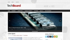 TechBoard Blogger Template