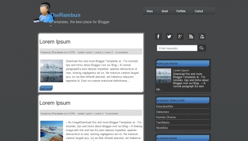 Template blogger TheRambun