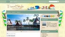 TravelStyle Blogger Template