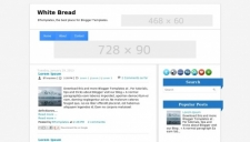 White Bread Blogger Template