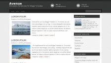 Avenue Blogger Template