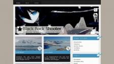 Black Rock Shooter Blogger Template