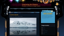 Charming Art Palace Blogger Template