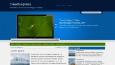Creativepress Blogger Template
