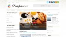Diapason Blogger Template