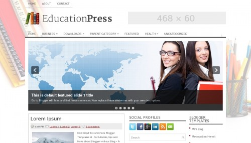 Template Education Press