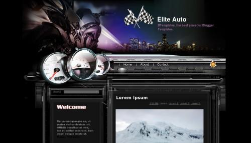 Template Elite Auto
