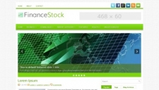 FinanceStock Blogger Template