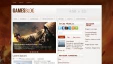 GamesBlog Blogger Template