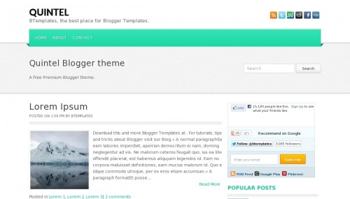 Template blogspot Quintel