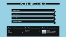 R Blue 1306 Blogger Template