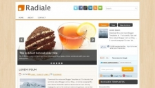 Radiale Blogger Template