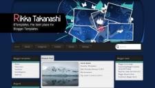 Rikka Takanashi Blogger Template