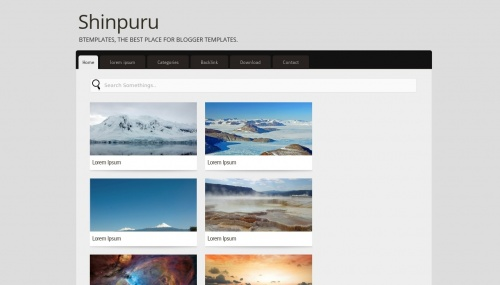 Template blogger Shinpuru
