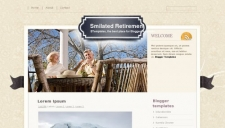 Smilated Retirement Blogger Template