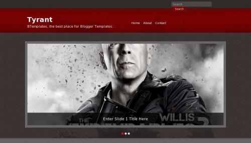 Template blogger Tyrant