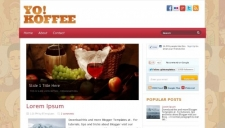 Yo Koffee Blogger Template