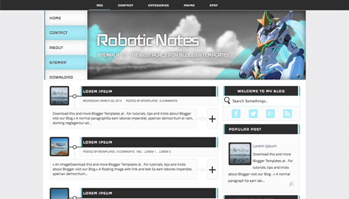 Download Template Blog 11 (Rp5.000)
