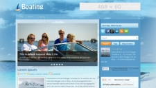 Boating Blogger Template