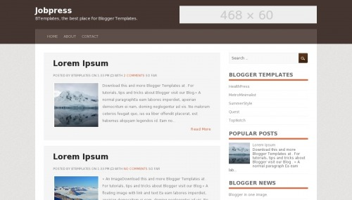 Template blogger Jobpress