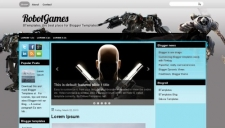 RobotGames Blogger Template