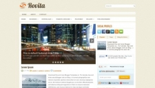 Rovita Blogger Template