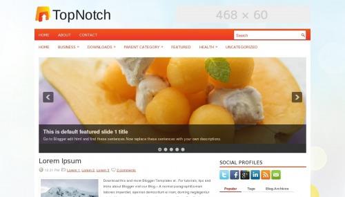 Template blogger Top Notch