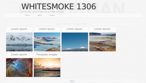 Template blogspot White smoke