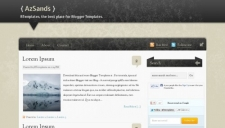 AzSands Blogger Template