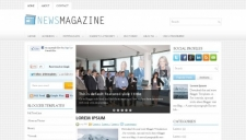 NewsMagazine Blogger Template