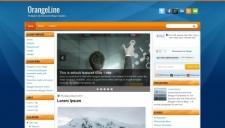 OrangeLine Blogger Template