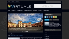 Virtuale Blogger Template