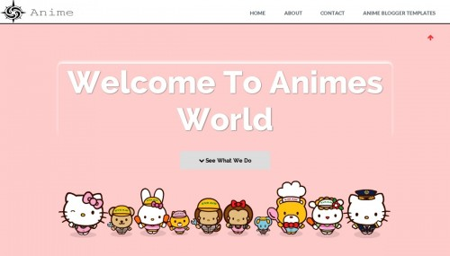 how to create blogspot template - anime clean blogger template btemplates